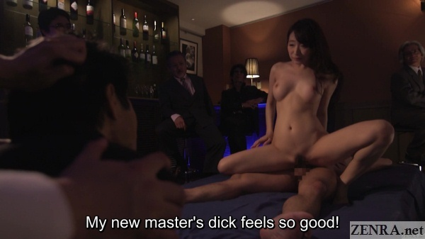 cowgirl sex cuckold kurea hasumi husband watches in shock
