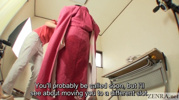 urine drenched kimono