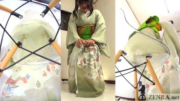 japanese kimono pee desperation