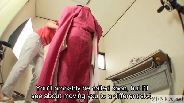 Subtitled japanese kimono pee desperation failure in hd 7