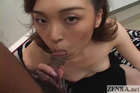 uncensored japanese blowjob pseudo pov