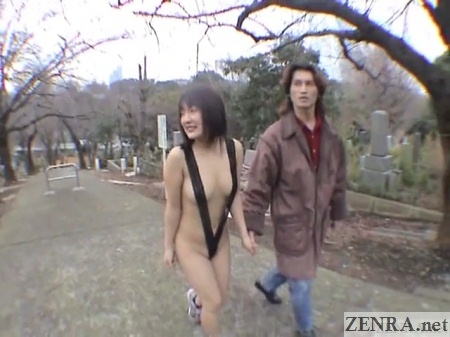 japanese public nudity cmnf walking