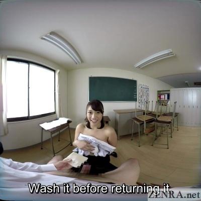 japanese teacher post titjob play vr