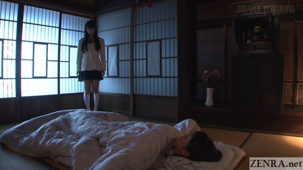 japanese schoolgirl ghost visits sayo arimoto
