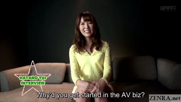 yui hatano interview
