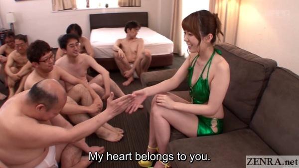 juice men honor yui hatano before big show