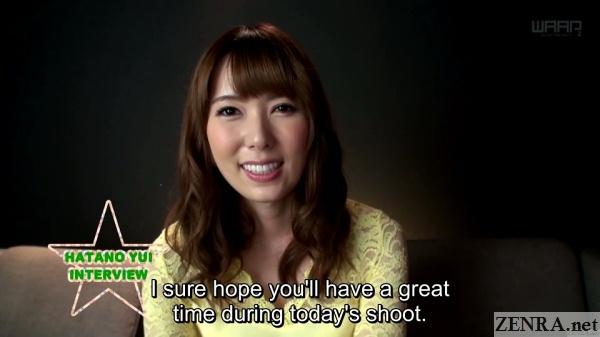 japanese av interview hatano yui