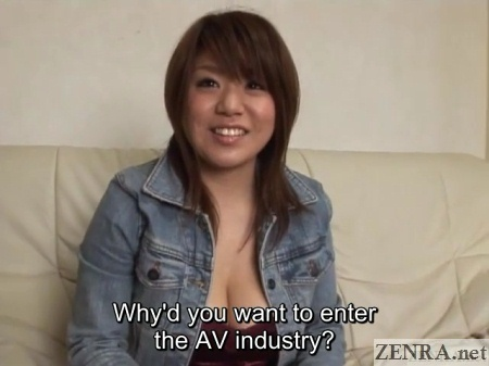 av interview with voluptuous amateur