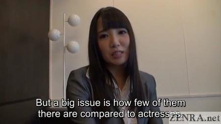 ayaka tomoda addresses japanese av actor shortage