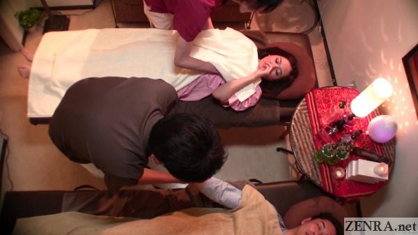 secret breast massage for japanese woman