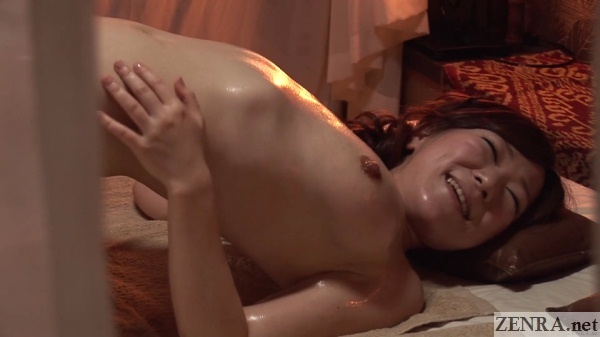 lower back raised japanese oil massage