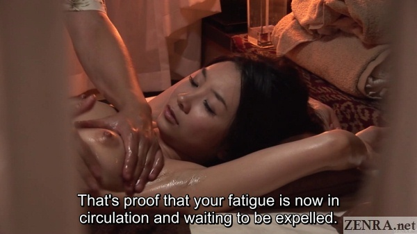 japanese oil massage for breasts