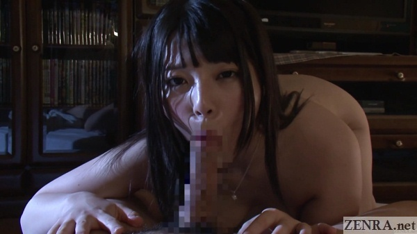 pov nocturnal japanese blowjob by uehara ai