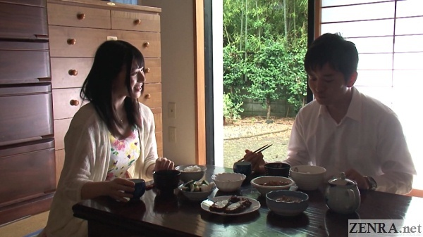 breakfast time with ai uehara and husband
