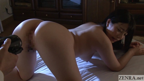 butt in air stark naked and embarrassed ai uehara