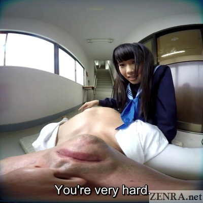 japanese schoolgirl feels bulge vr