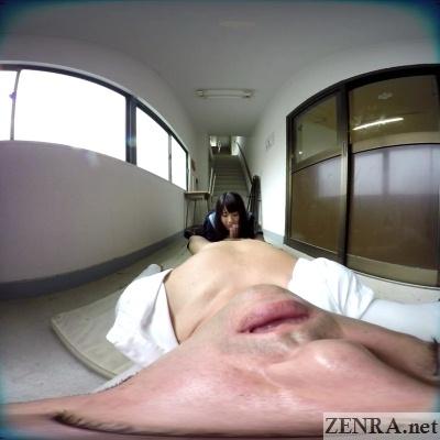 pov vr japanese schoolgirl blowjob