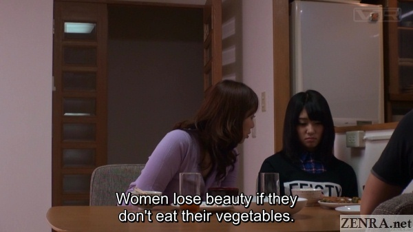 nana usami does not eat her vegetables