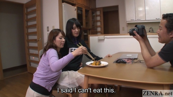picky japanese teen dinner time