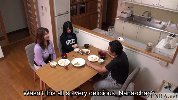 nana usami does not clear her plate