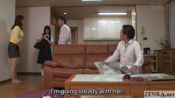 nana usami brings home boyfriend