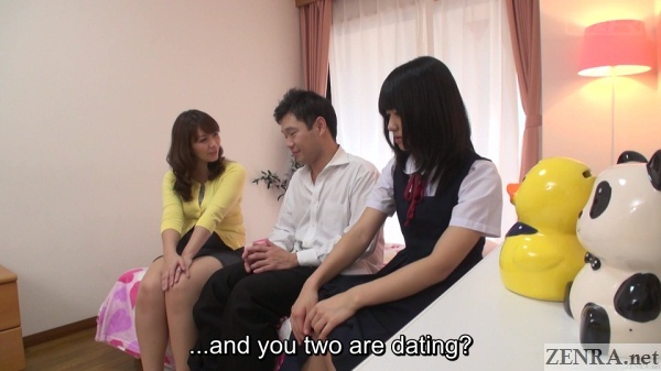 japanese schoolgirl dating question popped