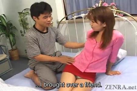 maho aizawa with new friends