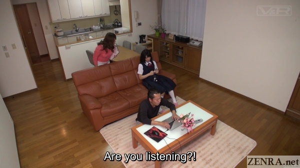 japanese schoolgirl ignores everyone