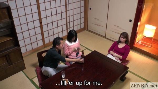 japanese schoolgirl buried in phone