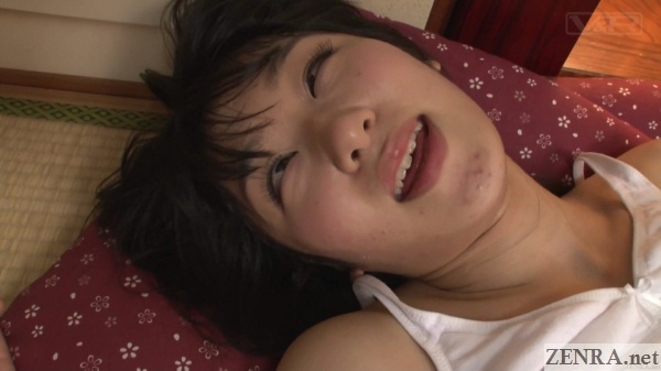 acme orgasm face japanese schoolgirl after heavy sex
