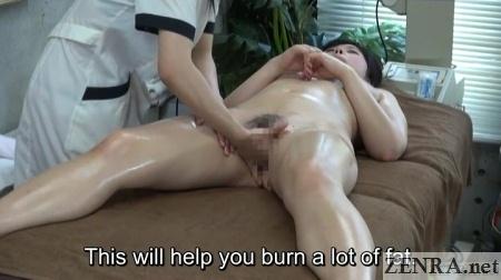 japanese cfnf erotic lesbian massage session