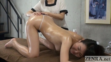 abnormal massage on all fours japan