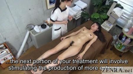 cfnf enf japanese lesbian masage segment