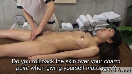 clitoris charm point full body oil massage in japan