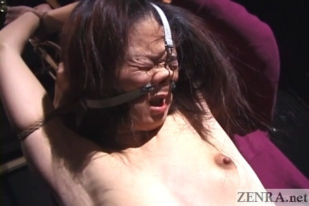 japanese face destruction bondage
