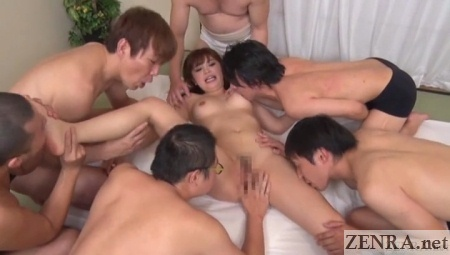 rina itou gangbang party by mobsters