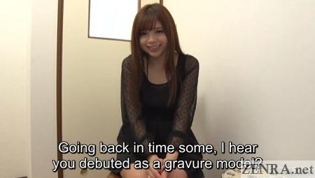 gravure model becomes japanese av star