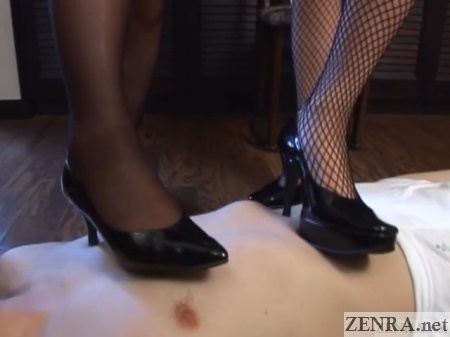 japanese high heels fetish come to life