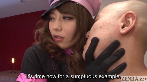 slave master ayu sakurai kissing example