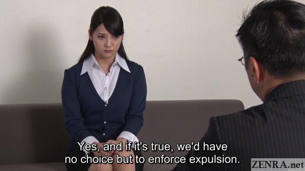 mizuna rei meeting at school