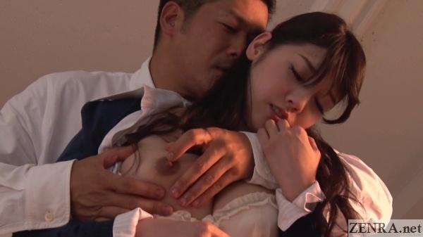 exposed nipple teacher mizuna rei