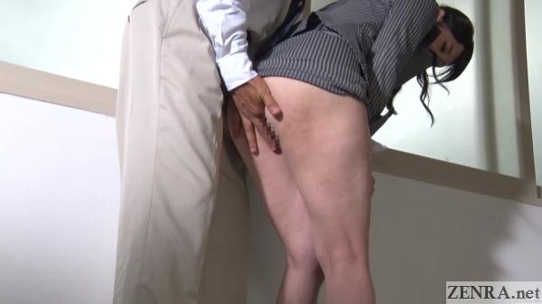 bottomless japanese teacher mizuna rei anus fingered
