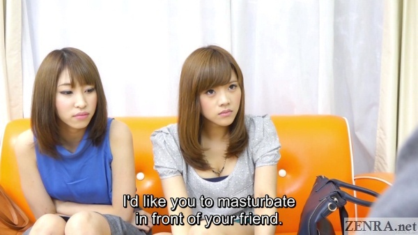 masturbation challenge for japanese college student