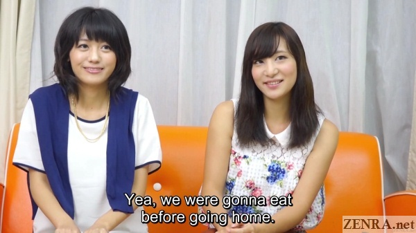 japanese college friends interview