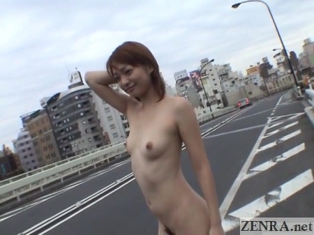 nudist japanese hitchhiker