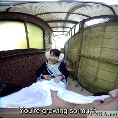 japanese schoolgirl handjob vr