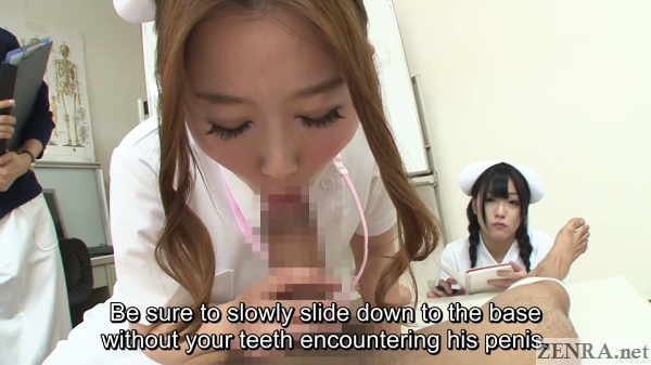 japanese nurses blowjob training