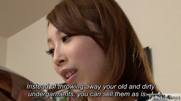 japanese housewife reads bizarre advice magazine