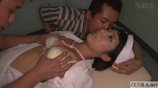 japanese nurse fondled by patients