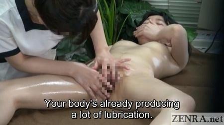 enf cfnf embarrassed customer spread for internal vagina massage